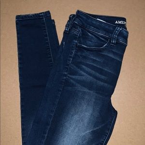 American Eagle Soft Dark Jeans